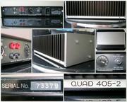 Quad 405-2 Британская легенда 70-х